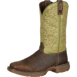 Rebel by Durango Coffee & Cactus Pull-On Western Boot