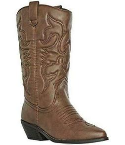 Soda Reno Womens Cowboy Boots Brown Western Casual Pull On D