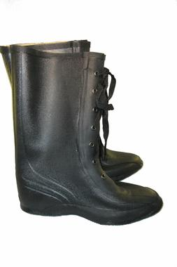 SERVUS WESTERN LACE UP RUBBER OVER BOOT MODEL T-320 BY HONEY