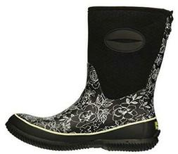 Western Chief Sketch Flowers Mid Womens Neoprene Waterproof