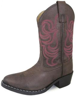 Smoky Mountain Girls Monterey Western Cowboy Boots Embroider