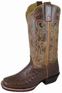 Smoky Mountain Womens Belle Tobacco Leather Cowboy Boots