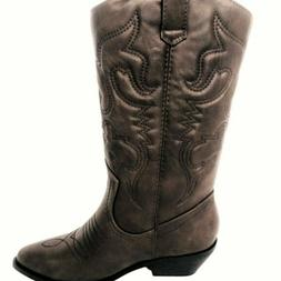 Soda Women Cowgirl Western Stitched Boots Size 5.5