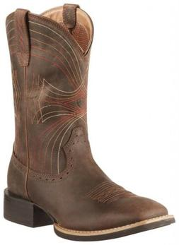Ariat Sport Wide Square Toe 10010963 Western Boots - Men's S
