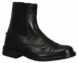 Tuffrider Starter Zip Paddock Riding Boots Ladies Rubber Sol