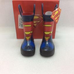 Western Chief Superman Forever Rain Boot, Blue,6
