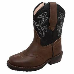 toddler s western light up boot brown