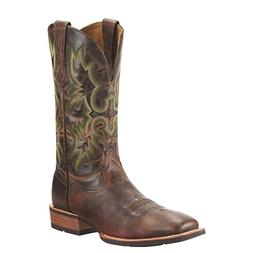 Ariat Men's Tombstone Western Cowboy Boot, Weathered Chestnu