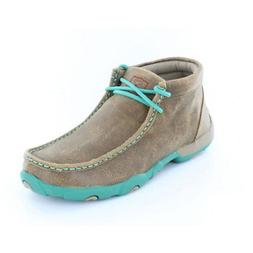 wdm0020 womens driving moccasin bomber turquoise new