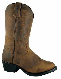 Smoky Mountain Western Boots Boys Denver Western Toe Brown 3