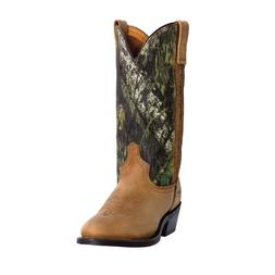 Men's Laredo Western Boots Cowboy Crazyhorse Leather Foot