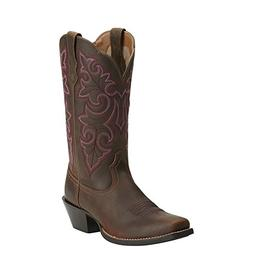 Ariat Western Boots Womens Round Up Square Toe Brown 1001417