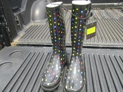 Western Chief Women Boots NWT Size 7 Polka Dots NIce