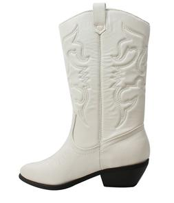 Soda Women Cowgirl Cowboy Western Stitched Boots Pointy Toe