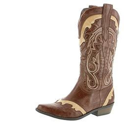 Coconuts by Matisse Women's Bonanza Western Cowboy Boot  US,