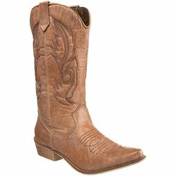Women's Coconuts By Matisse Gaucho Boot - Tan - FREE SHIPPIN