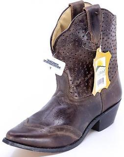 """SMOKY MOUNTAIN BOOTS Women's Fern 8"""" Distress Leather Wester"""