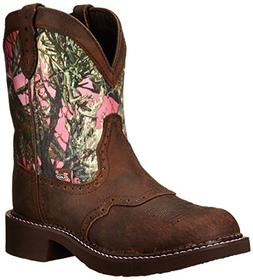"Justin Boots Women's Gypsy Collection 8"" Soft Toe,Aged Bark/"