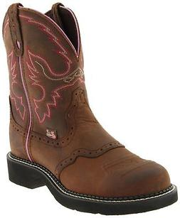 Justin Boots Women's Gypsy Collection Western Boot Aged Bark