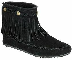 Refresh Women's Jolin-01 Moccasin Fringe Boot