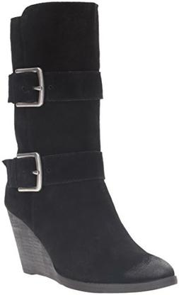 Very Volatile Women's Lars Western Boot, Black, 9 B US