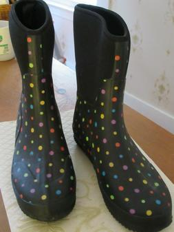 Women's Mud Boots Western Chief Neoprene Ditsy Dot Rain Boot