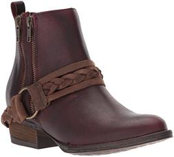 Very Volatile Women's Yokel Boot, Wine, 8.5 B US