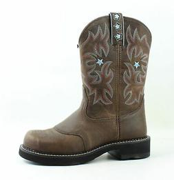 Ariat Womens Probaby Driftwood Brown Cowboy, Western Boots S