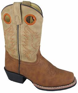 Smoky Mountain Boots Children Boys Memphis Tan Faux Leather