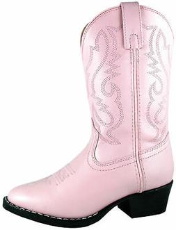 Smoky Mountain Boots Youth Girls Denver Pink Leather Western